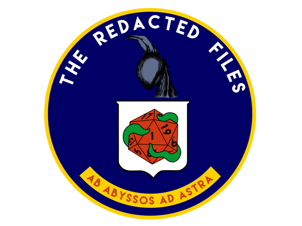 The Redacted Files Logo